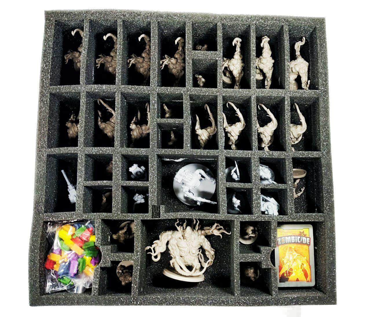 Zombicide Invader + Insert de Espuma Jogo de Miniaturas Galapagos ZOM301  - Place Games