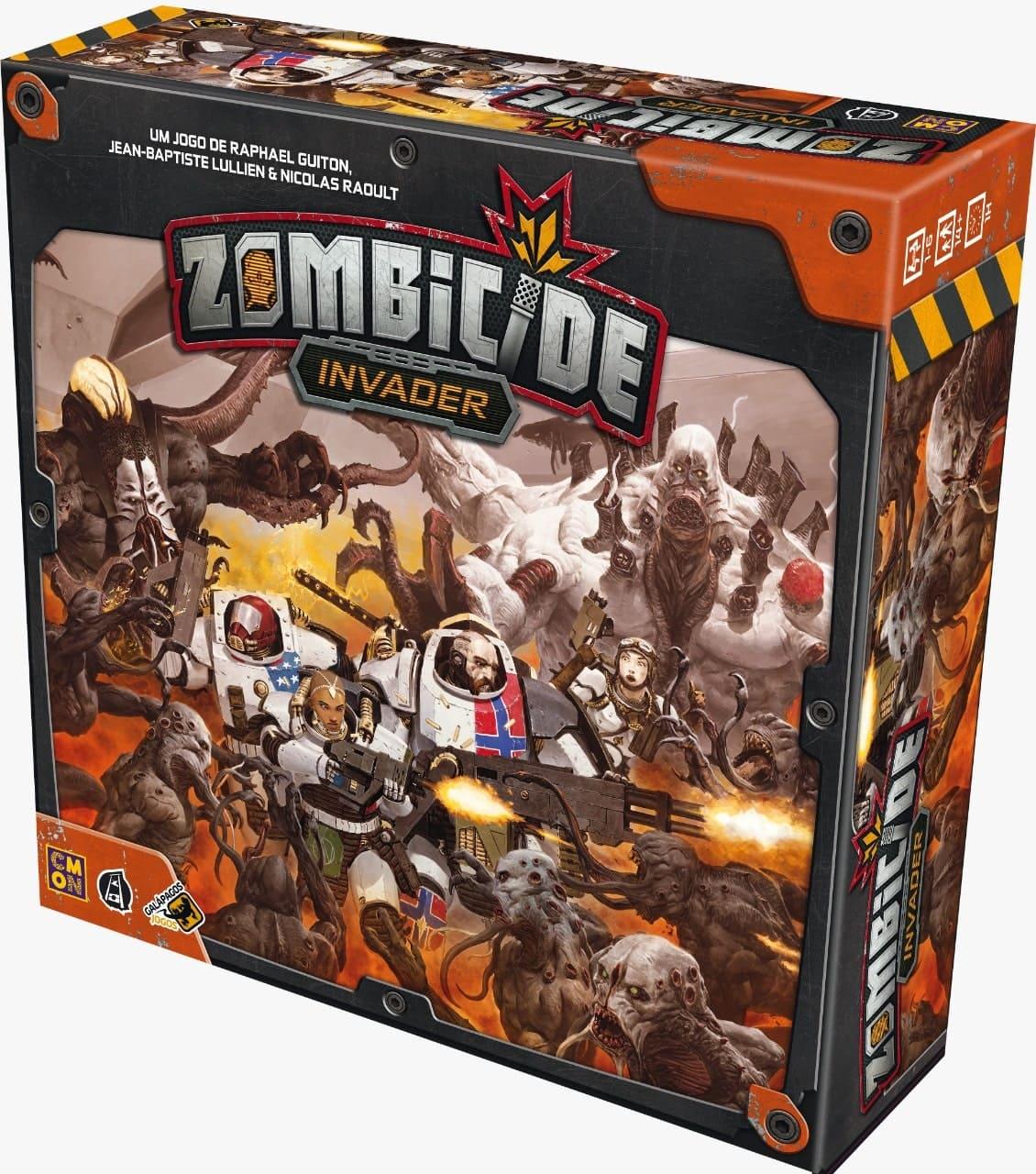 Zombicide Invader Jogo de Miniaturas Galapagos ZOM301  - Place Games