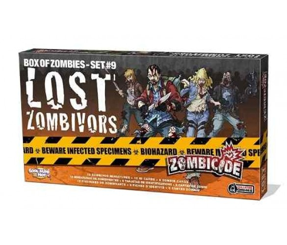 Zombicide Lost Zombivors Galapagos ZOM156  - Place Games
