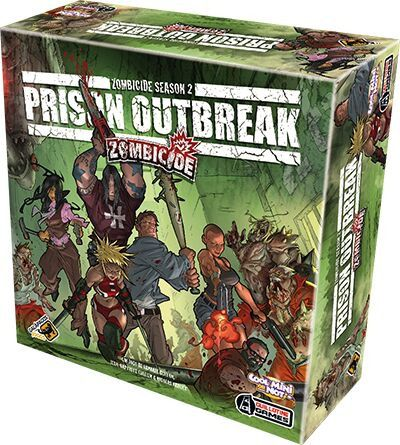 Zombicide Prison Outbreak Galapagos ZOM002  - Place Games