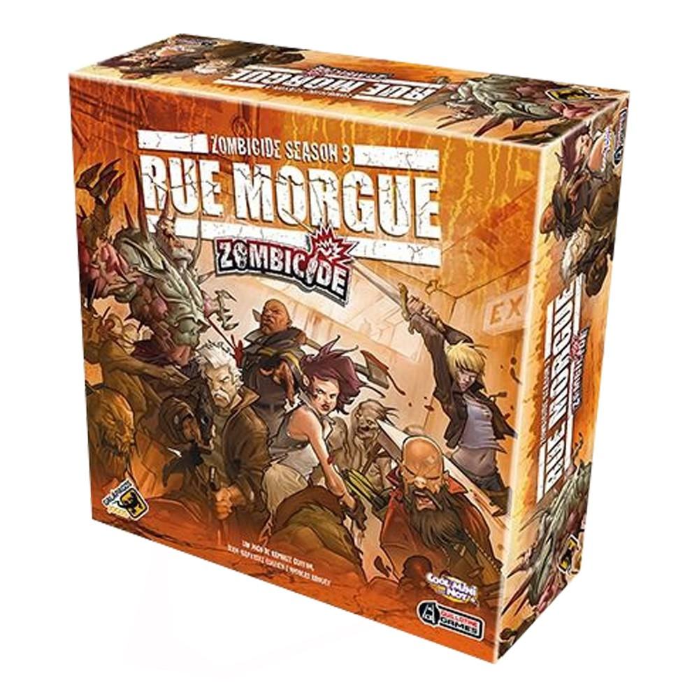 Zombicide Rue Morgue Season 3 Jogo de Tabuleiro Galapagos ZOM004  - Place Games