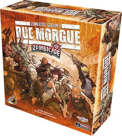Zombicide Rue Morgue Season 3 + VIP 1 e 2 Galapagos ZOM004  - Place Games