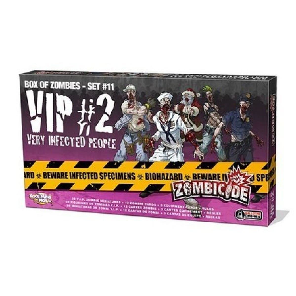 Zombicide VIP 2 Galapagos ZOM169  - Place Games