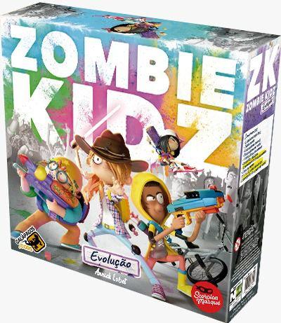 Zombie Kidz Evolução Jogo de Tabuleiro Galapagos ZKE001  - Place Games