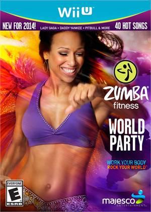 Zumba Fitness World Party Nintendo Wii-U Original Lacrado  - Place Games