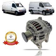 Alternador Original Renault Master Eletrônica 2.5 2005 2006 2007 2008 2009 2010 2011 2012 2013