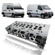 Cabeçote Limpo Renault Master 2.5 Eletrônica 2005 2006 2007 2008 2009 2010 2011 2012 2013
