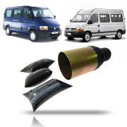 Coifa do Câmbio Meio (Copo) Lado Direito Renault Master 2002 2003 2004 2005 06 07 08 09 10 11 12
