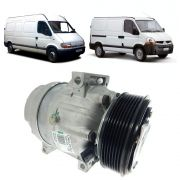 Compressor do Ar Condicionado Original da Renault Master 2005 2006 2007 2008 2009 2010 2011 2012