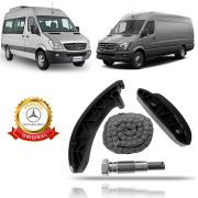 Corrente do Motor (Kit) Original Mercedes Benz Sprinter 415 515 2013 2014 2015 2016 2017 2018 2019