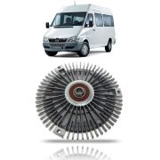 Discofan Polia Viscosa do Radiador Mercedes Benz Sprinter CDI 311 313 2002 03 04 05 06 07 08 09 10 11 12