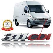 Emblema da Grade Original Mercedes Benz Sprinter 311 CDI 2002 2003 2004 2005 2006 2007 2008 2009 2010 11 12
