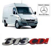 Emblema da Grade Original Mercedes Benz Sprinter 313 Cdi 2002 2003 2004 05 06 07 08 09 10 11 12