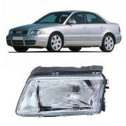 Farol do Lado Esquerdo do Audi A4 1995 1996 1997 1998 1999 2000 2001