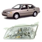 Farol do Lado Esquerdo da Toyota Corolla 1998 1999 2000 2001 2002
