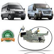 Fechadura Elétrica Inferior Porta Correr Original Ford Transit Van e Furgão 2009 2010 2011 2012 2013 2014