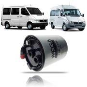 Filtro de Combustível com Sensor Mercedes Benz Sprinter 2002 03 04 05 06 07 08 09 10 11 12
