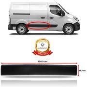Friso Porta de Correr Lado Direito Original 146,0 x 18,8 cm Renault Master Média Longa 2014 15 16 17 18