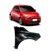 Paralama do Fiat 500 2007 2008 2009 2010 2011 2012 2013 2014 2015 2016 2017 em diante com Furo Lado Direito