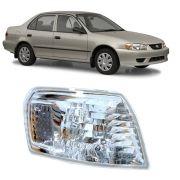 Pisca do Lado direito Cristal do Corolla 1998 1999 2000 2001 2002