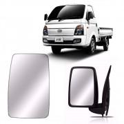 Refil do Retrovisor Lado Esquerdo da Hyundai HR 2004 2005 2006 2007 2008 2009 2010 2011 2012