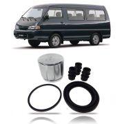 Reparo Pinça Freios Dianteira C/Pistão Hyundai H100 1993 1994 1995 1996 1997 1998 1999 2000 01 02