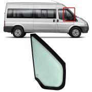 Vidro Fixo da Porta Dianteira Lado Direito Sem Borracha Ford Transit 2008 2009 2010 2011 2012 2013