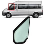 Vidro Fixo da Porta Dianteira Lado Esquerdo Sem Borracha Ford Transit 2008 2009 2010 2011 2012 2013