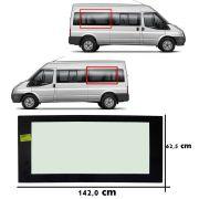 Vidro Lateral Ford Transit 1,42 x 62,5 cm 2008 2009 2010 2011 2012 2013