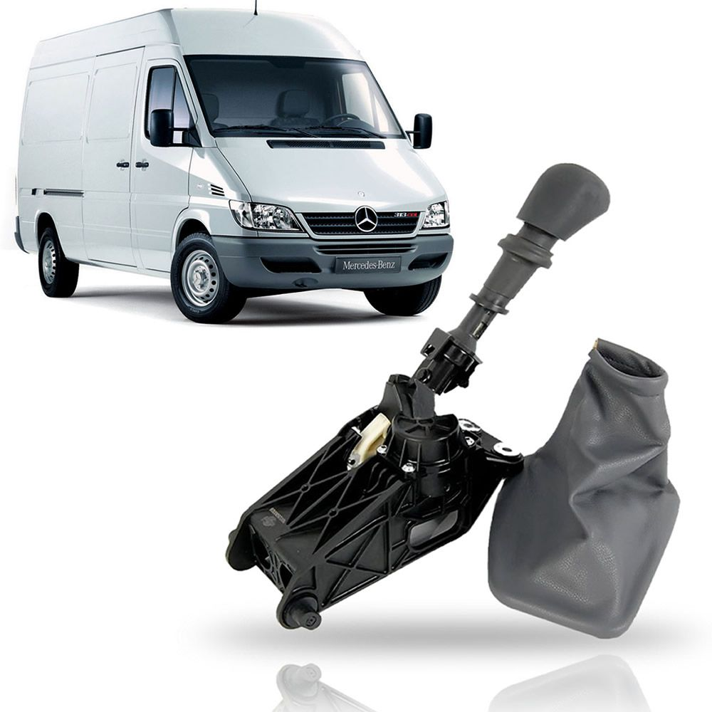 Alavanca de Câmbio Mercedes Benz Sprinter CDI 313/311/413 2002 03 04 05 06 07 08 09 10 11 12 13