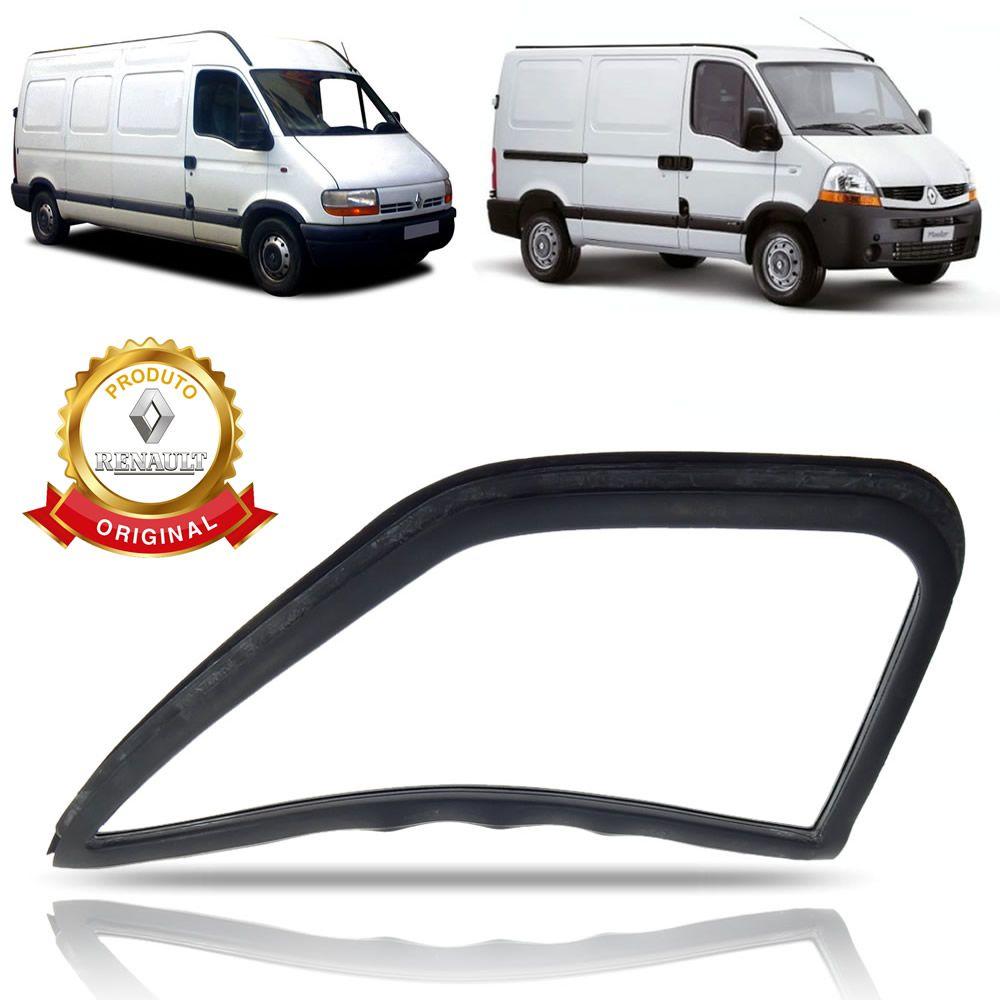 Borracha Ventarola Lado Direito Original Renault Master 2002 2003 2004 2005 2006 2007 2008 2009 2010 2011 2012 2013