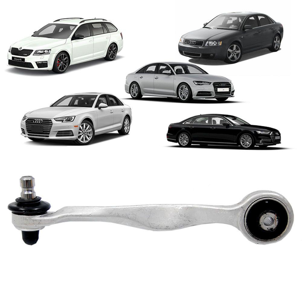 Braço Superior da Suspensão do Lado Esquerdo do Audi A4/A6/A8/Skoda/Passat