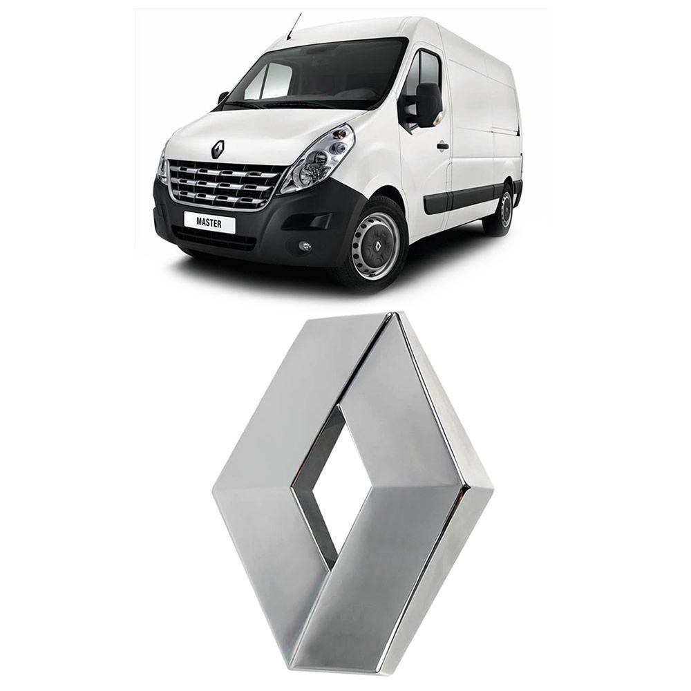 Emblema da Grade Original Renault Master 2014 2015 2016 2017