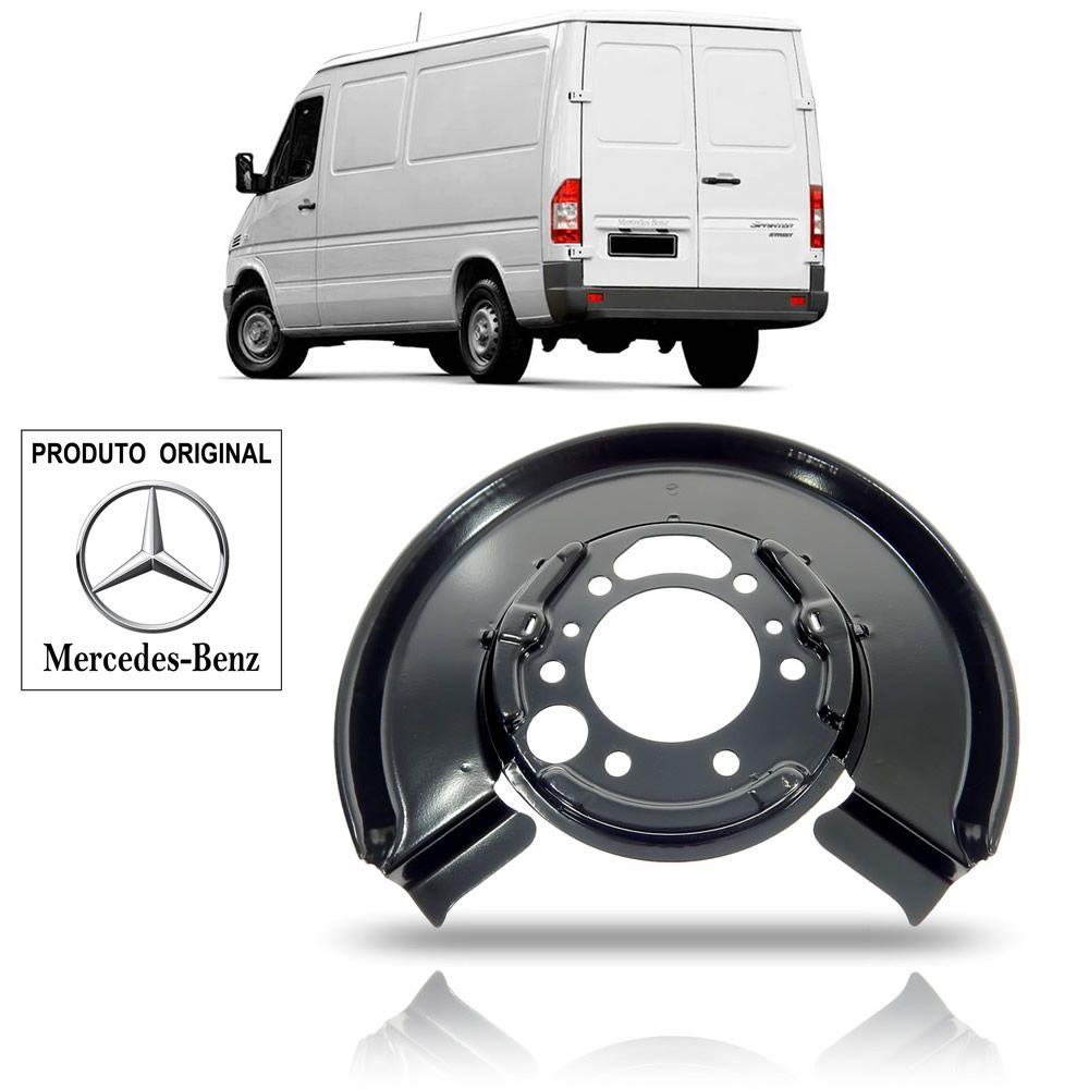 Espelho da Roda Traseira Lado Esquerdo Original Mercedes Benz Sprinter 2000 01 02 03 04 05 06 07 08 09 10 11 12 - Rodado Simples