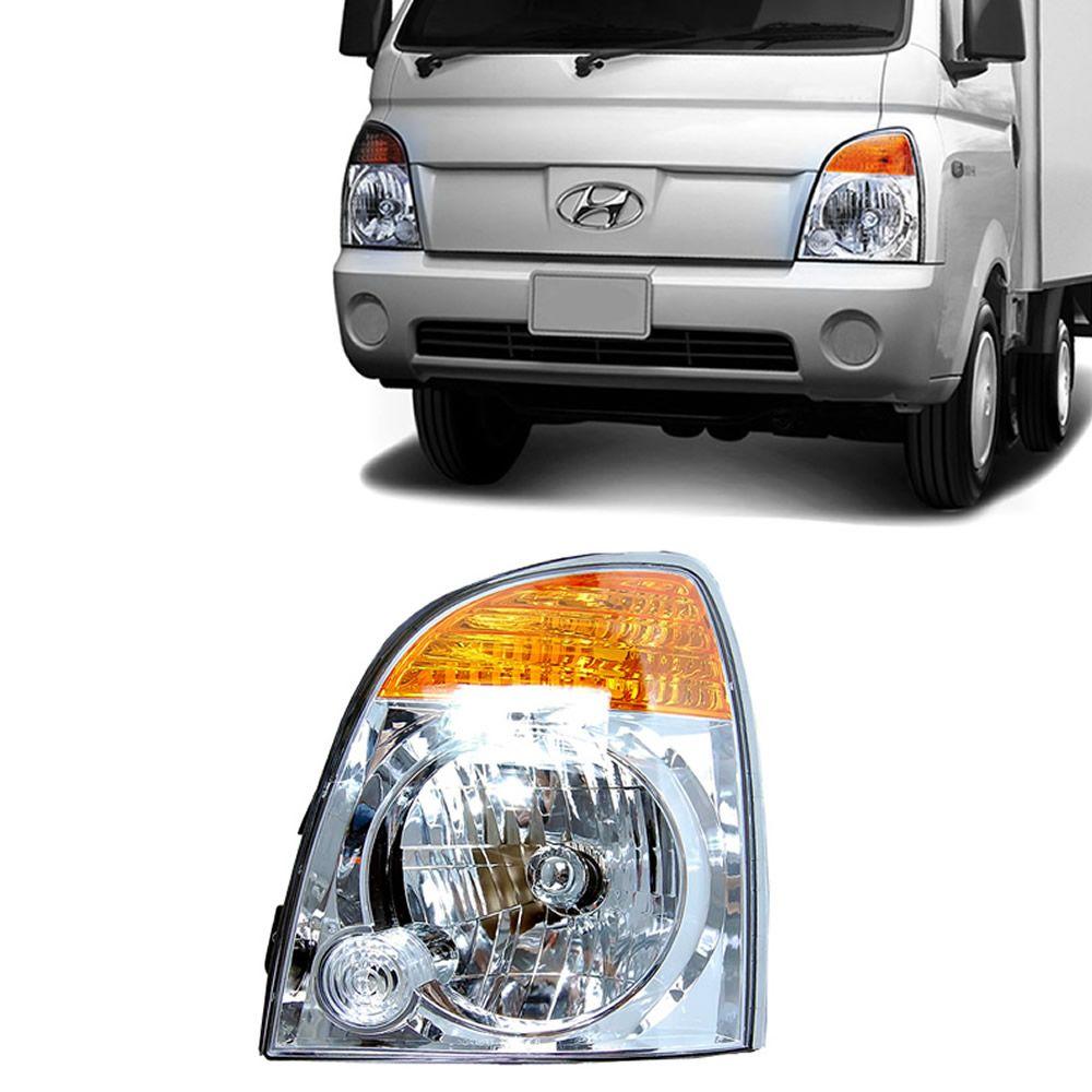 Farol Lado Esquerdo da Hyundai HR 2004 2005 2006 2007 2008 2009 2010 2011 2012