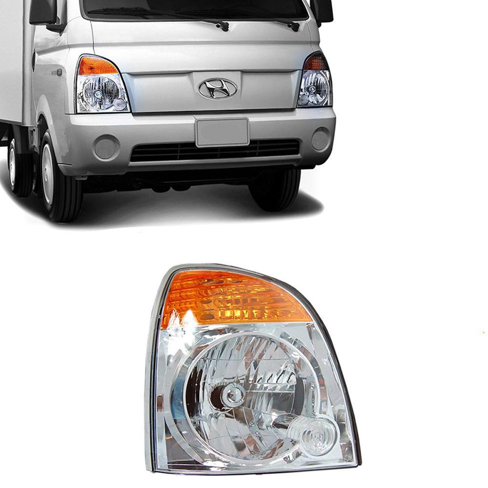 Farol Lado Direito da Hyundai HR 2004 2005 2006 2007 2008 2009 2010 2011 2012