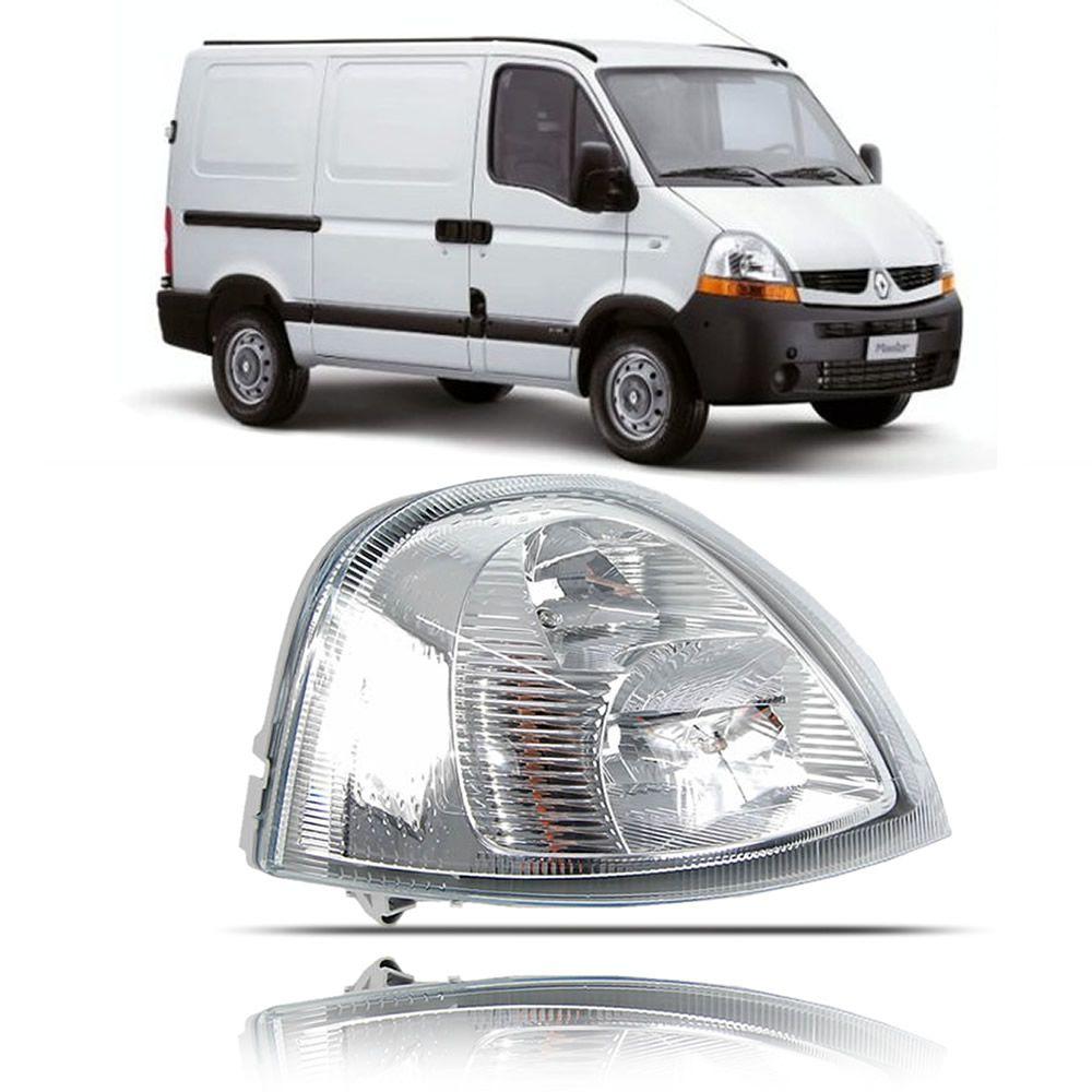 Farol Lado Direito Original Renault Master 2010 2011 2012 2013