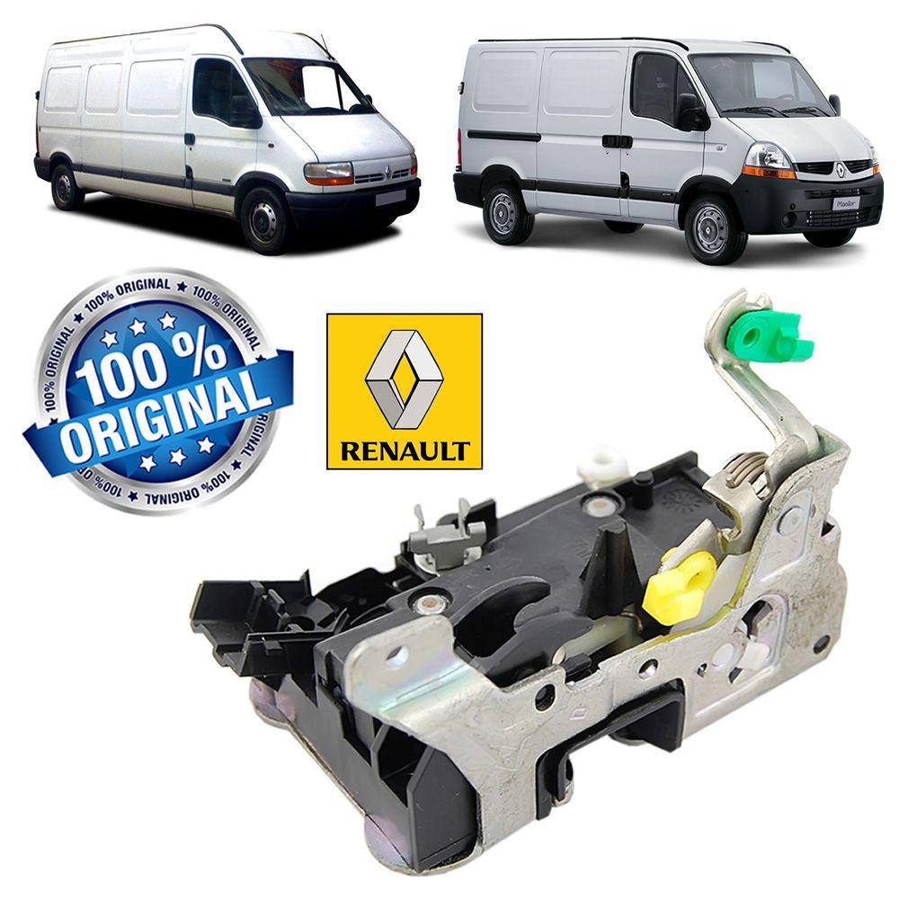 Fechadura Porta Dianteira Manual Lado Direito Original Renault Master 2002 2003 2004 2005 2006 2007 2008 2009 2010 2011 2012 2013