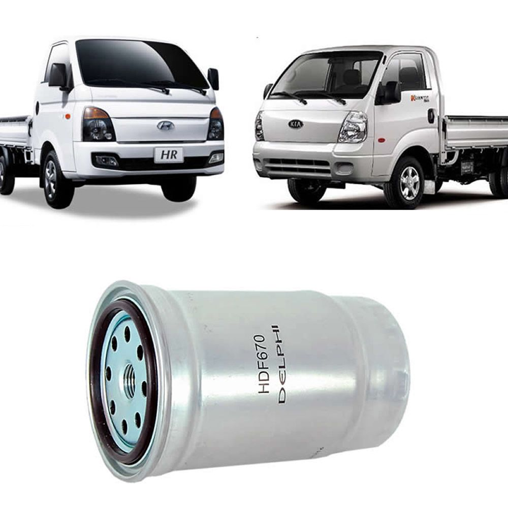 Filtro de  Combustível da Hyundai HR e Bongo K2500 16V 2013 2014 2015 2016 2017