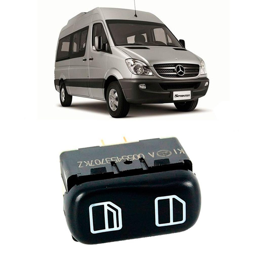 Interruptor do Vidro Eletrico do Lado Direito da Sprinter CDI