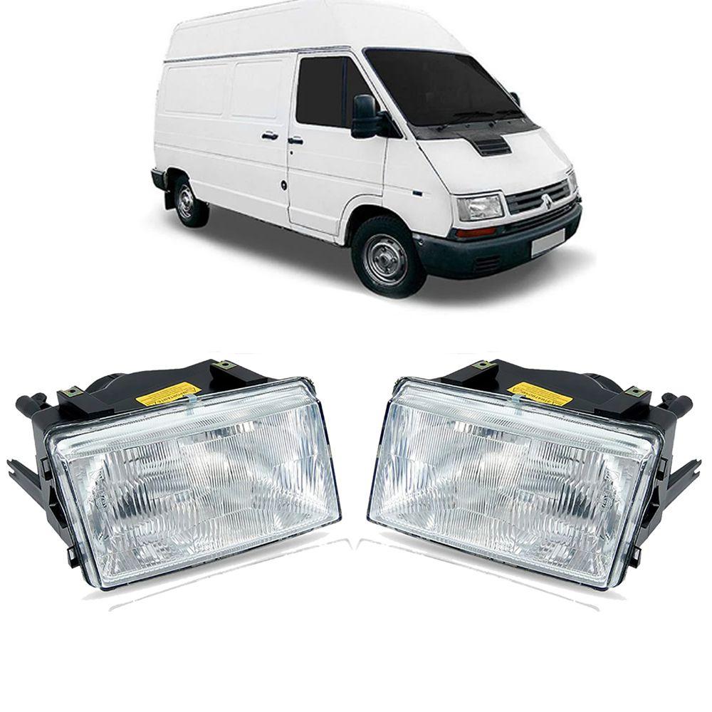 Kit Farol Renault Trafic 1994 1995 1996 1997 1998 1999 2000 2001 2002
