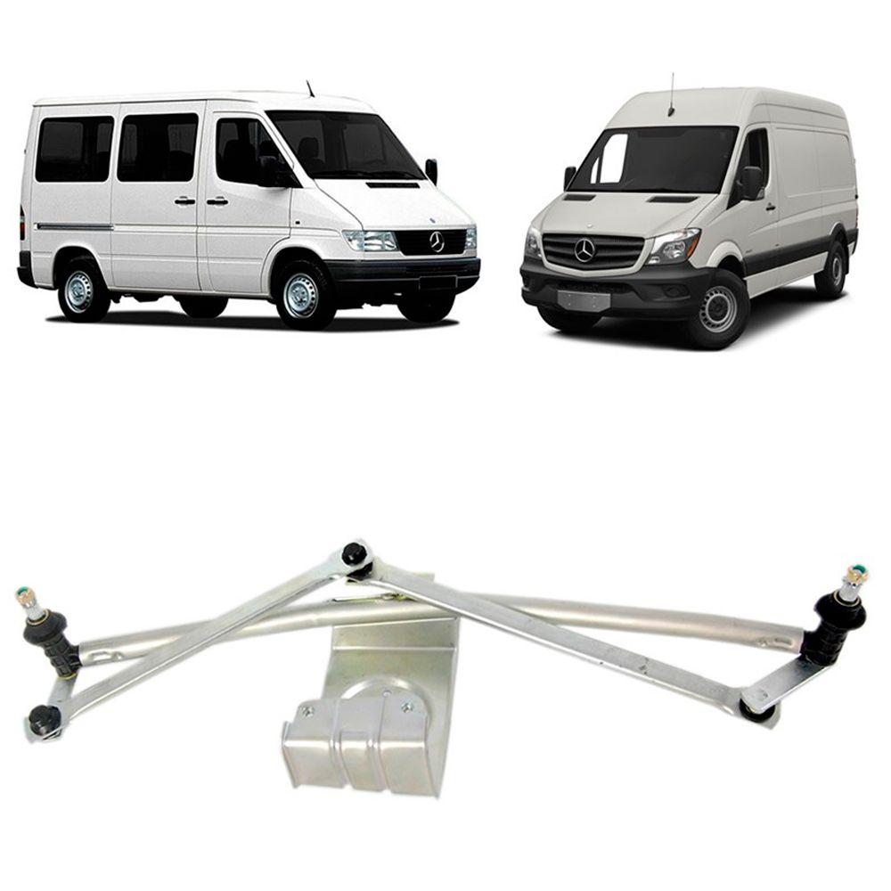 Mecanismo Limpador de Parabrisa da Sprinter 1997 1998 à 2012