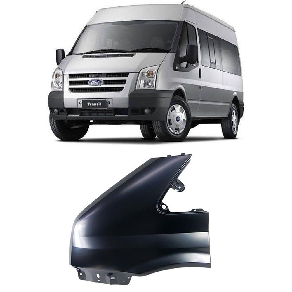 Paralama Sem furo Lado Esquerdo Transit 2008 2009 2010 2011 2012 2013 2014 2015 2016 2017