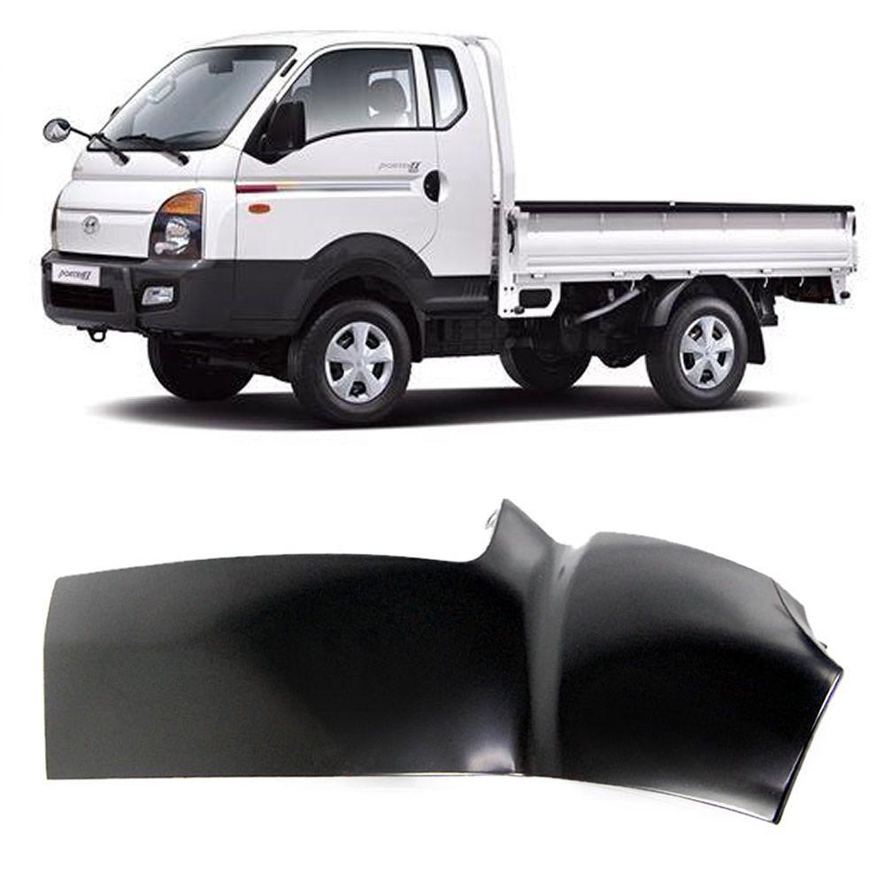 Paralama Curvão Lado Esquerdo da Hyundai HR 2004 2005 2006 2007 2008 2009 2010 2011 2012 2013 2014 2015 2016 2017 2018