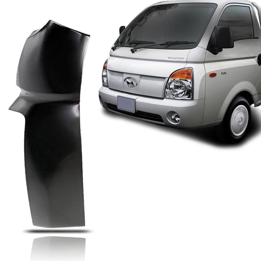 Paralama Curvão Lado Esquerdo Hyundai HR 2004 2005 2006 2007 2008 2009 2010 2011 2012 2013 2014 2015 2016 2017 2018
