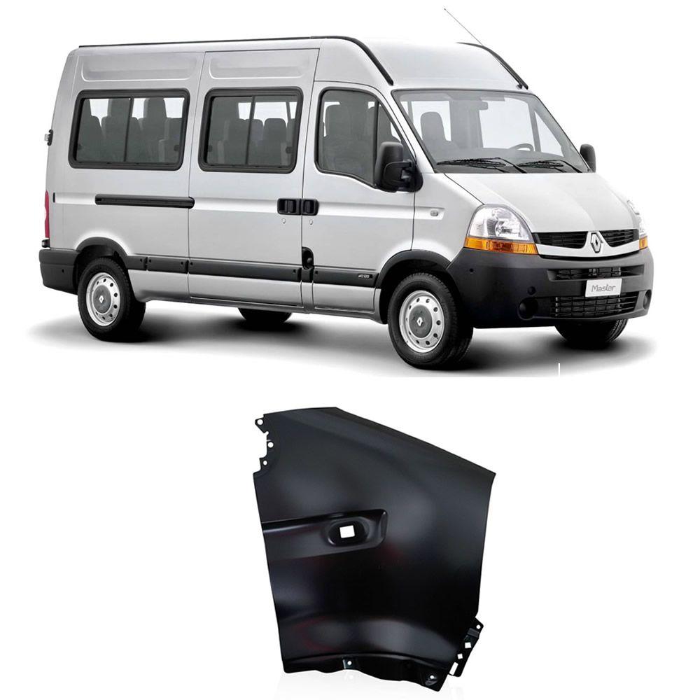 Paralama Lado Direito da Renault Master 2010 2011 2012 2013