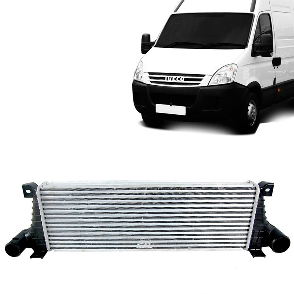 Radiador do Intercooler da Iveco 3.0 2008 2009 2010 2011 2012