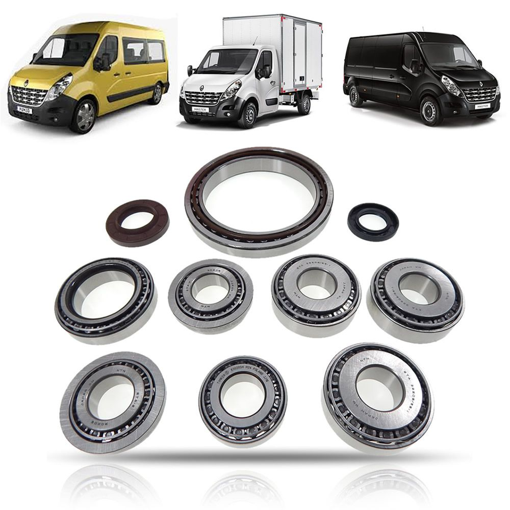 Rolamento Retentor (kit) PK5 PK6 Renault Master 2.3 2014 2015 2016 2017 2018 2019 2020