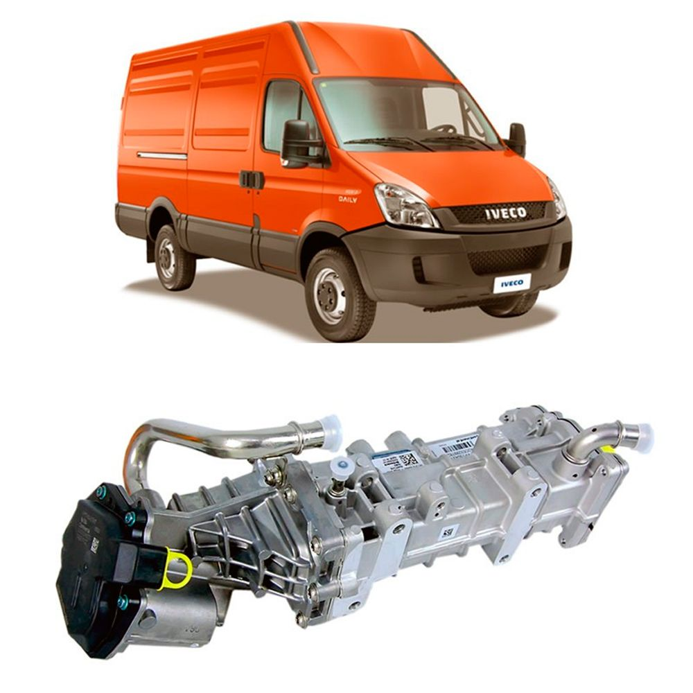 Válvula da Iveco Euro 5 EGR 2013 2014 2015 2016
