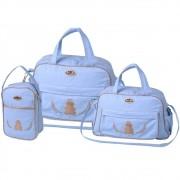 1a2821e6f mamaes bolsas maternidade kit bolsa bebe maternidade azul claro ...
